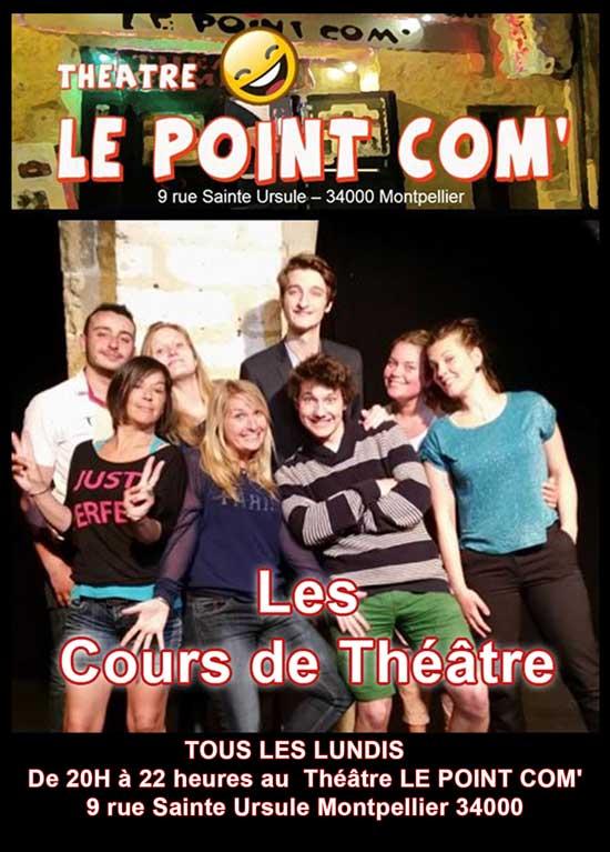 cours théâtre Montpellier